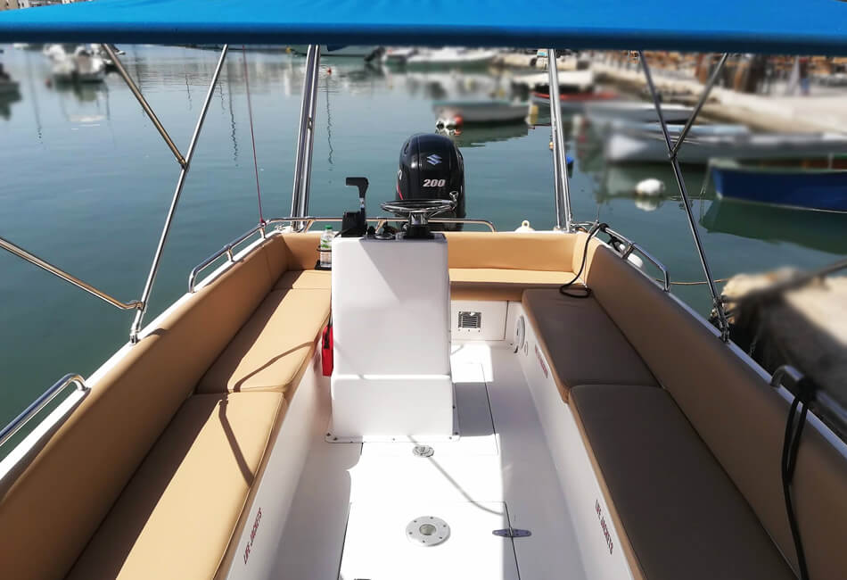 22 Ft Sea Rover 208
